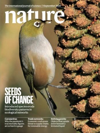 Nature Cover Fricke & Svenning 2020 small